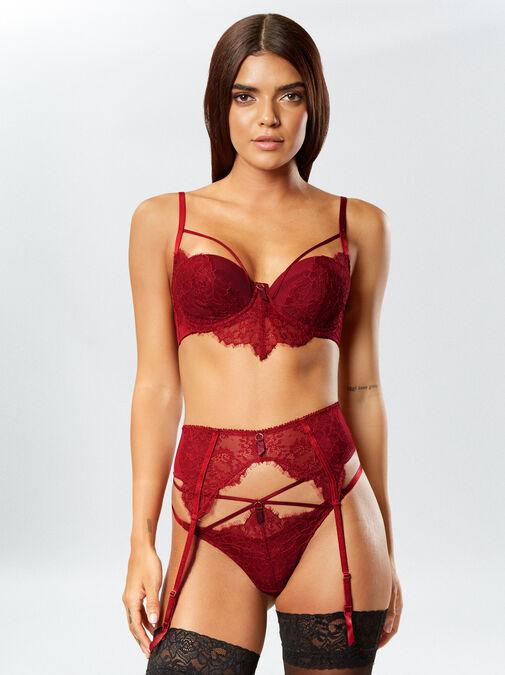 Vivacious Vixen Suspender Belt image number 2.0