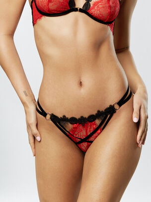 Leila Crotchless String