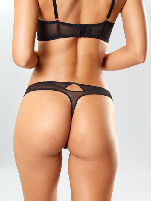 Lustful Promises Thong  image number 1.0