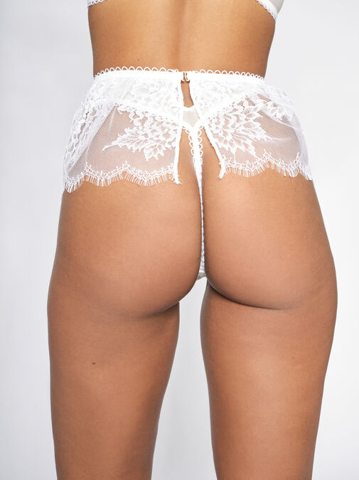 The Blossom High Waisted Thong image number 1.0