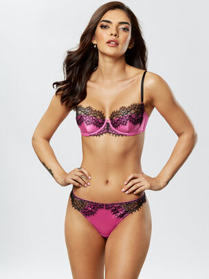 Lustrous Dreams Balcony Bra