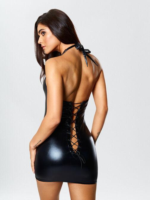 Samra Wet Look Dress image number 1.0