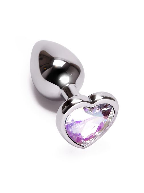 Small Heart Metal Butt Plug image number 0.0