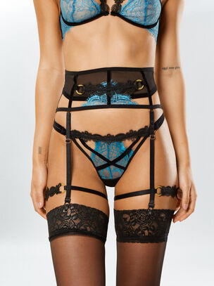 Leila Suspender Belt