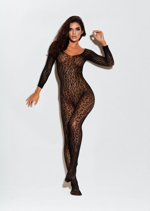 The Wild One Crotchless Bodystocking image number 0.0