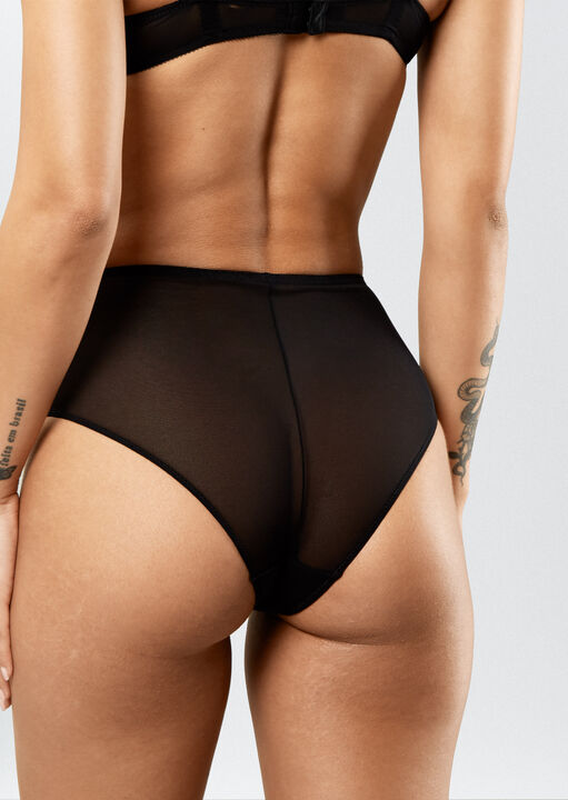 Sexy Lace High Waisted Brief image number 1.0