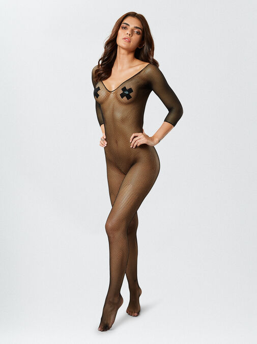 Dreamgirl Fishnet Bodystocking image number 0.0