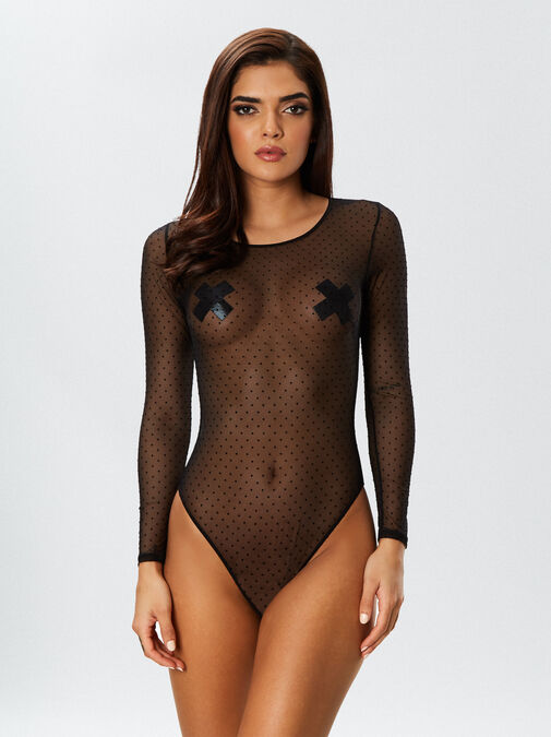 The Lucky Night Crotchless Body image number 1.0