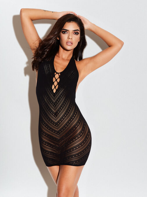The Sensuous Mini Dress image number 0.0