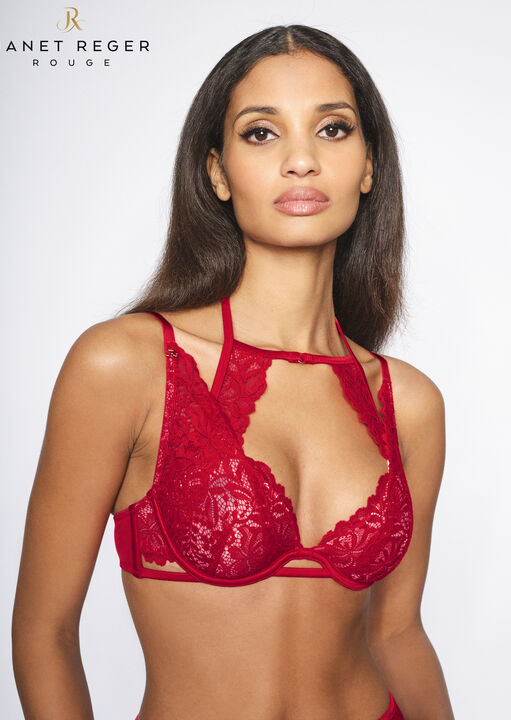Janet Reger To Love And Be Loved Plunge Bra image number 2.0