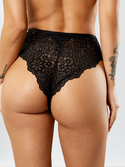 Knickerbox Planet -The Charmer High Waisted Brazilian image number 1.0