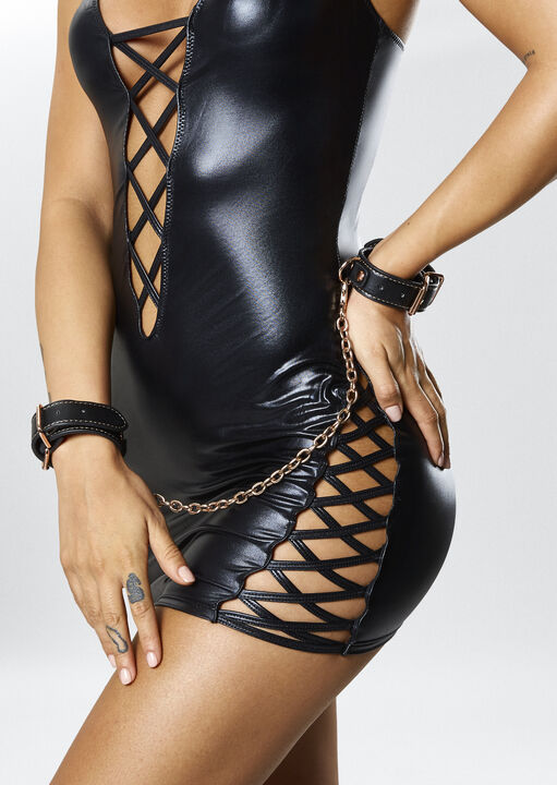 Studded Buckle Handcuffs image number 4.0