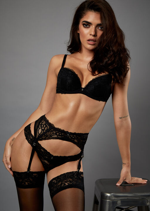 Sexy Lace Suspender Belt  image number 5.0