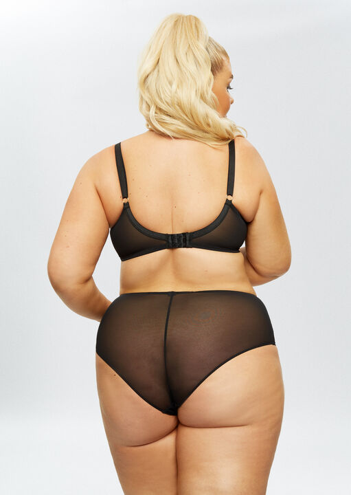 Sexy Lace Sustainable Plunge Bra image number 6.0
