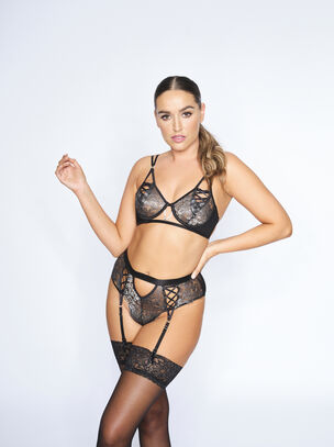 The Independent Woman Crotchless Set