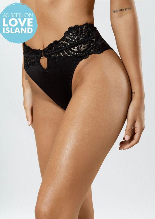 Fiercely Sexy HW Bikini Bottom  image number 0.0