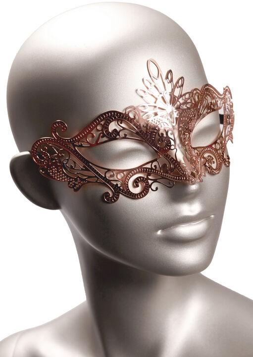 Rose Gold Masquerade Mask image number 0.0