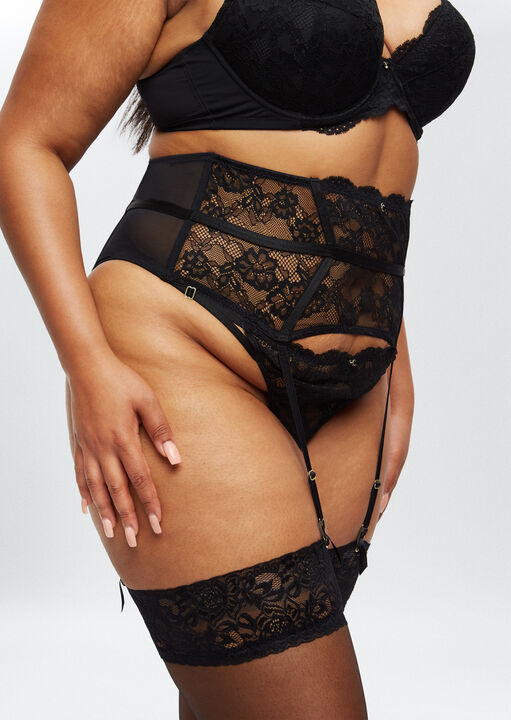 Sexy Lace Sustainable Waspie  image number 1.0