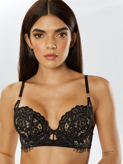 Fiercely Sexy Non Padded Bra image number 3.0