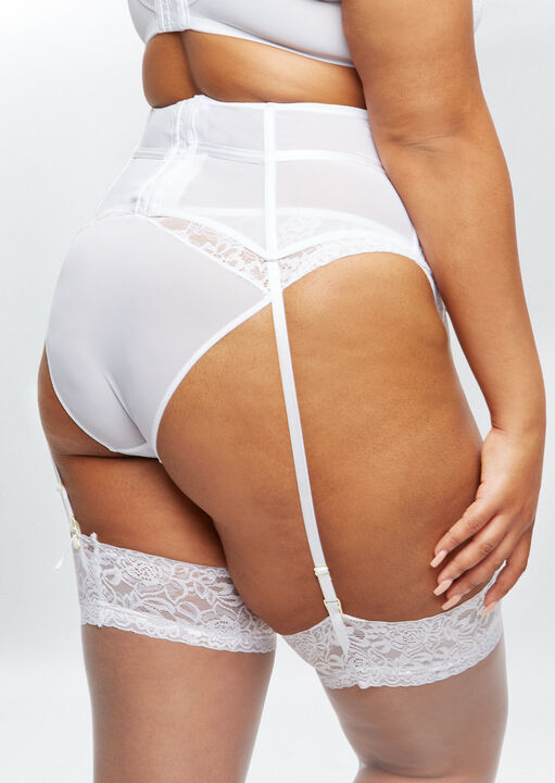 Sexy Lace Sustainable Waspie  image number 3.0