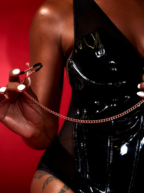 Rose Gold Nipple Clamps image number 3.0