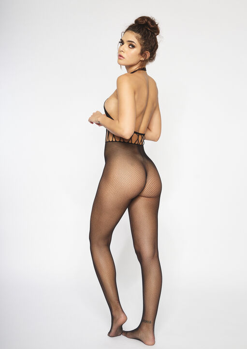 The Rise Crotchless Bodystocking image number 1.0