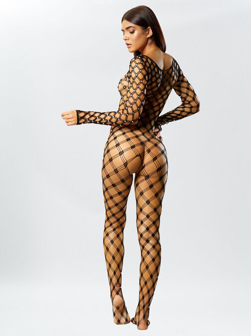Birthday Suit Bodystocking image number 2.0