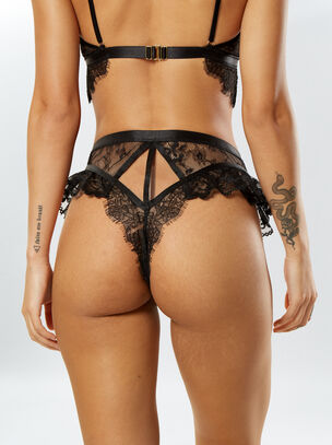 L'Amour High Waisted Brief