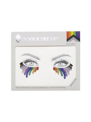 Rainbow Drip Face Gems