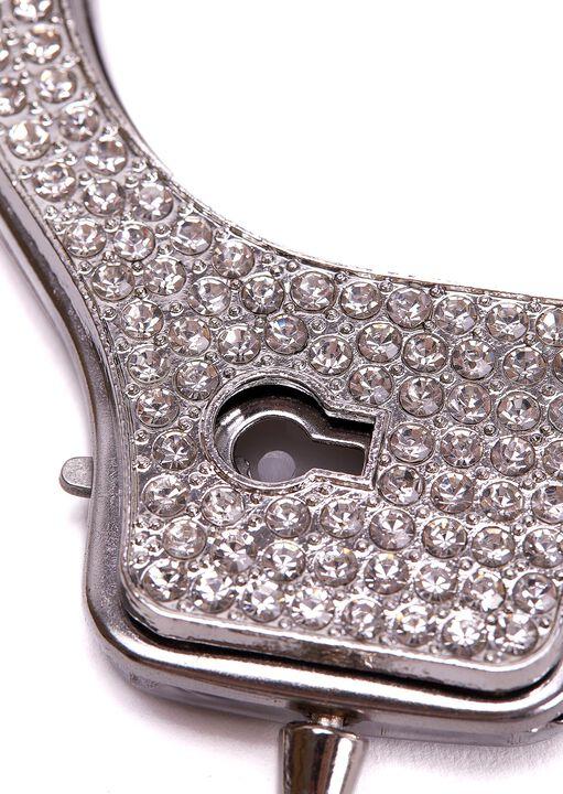 Diamante Metal Cuffs image number 3.0