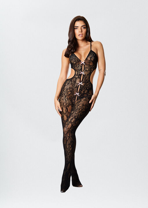 The Boudoir Crotchless Bodystocking image number 1.0