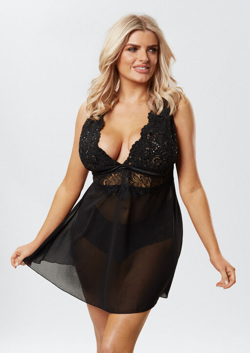 Fiercely Sexy Babydoll image number 2.0