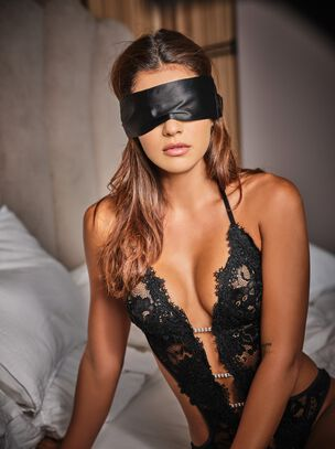 Satin & Lace Blindfold