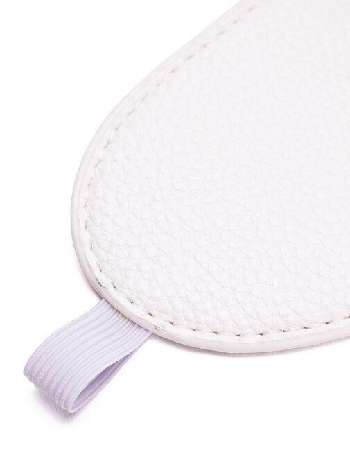 White Faux Leather Bondage Set image number 4.0