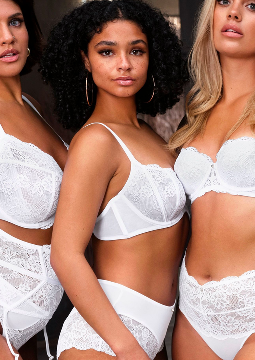Sexy Lace Sustainable Balcony Bra image number 12.0