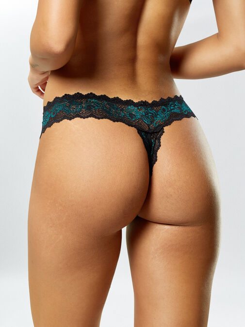 Brielle 3 Pack Crotchless Thong image number 8.0