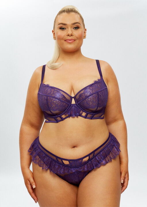 The Understated Fuller Bust Non Padded Bra image number 0.0