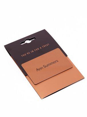 Ann Summers £10 Gift Card