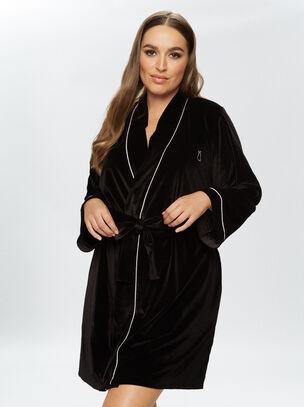 Signature Velvet Robe