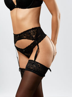 Sexy Lace Suspender Belt
