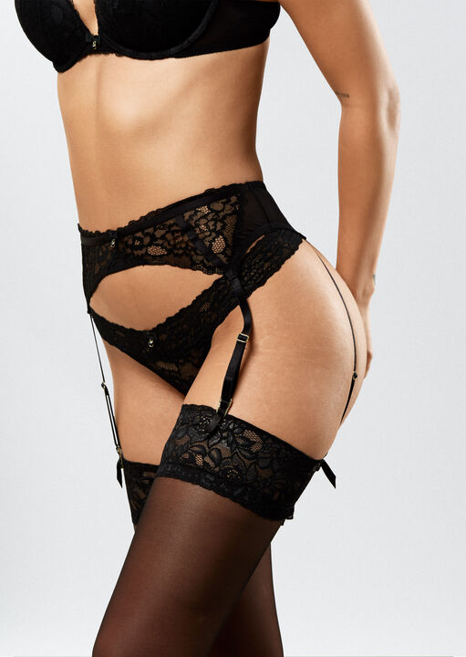 Sexy Lace Suspender Belt  image number 0.0