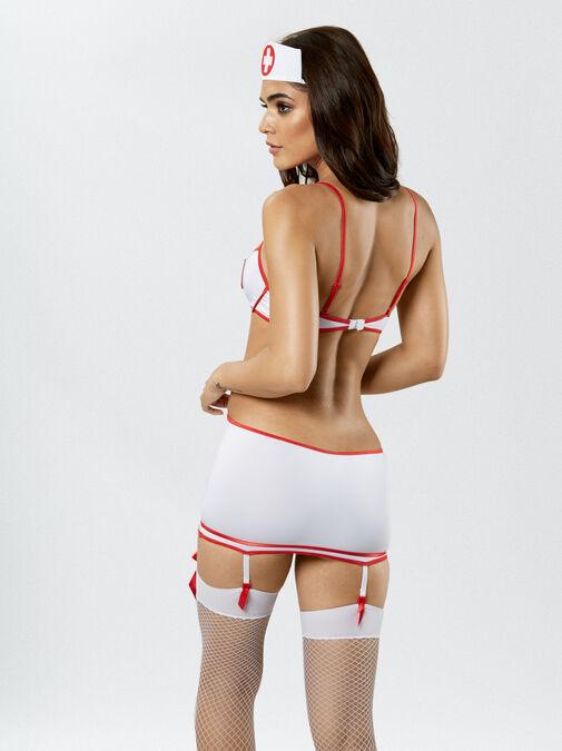 Nurse Heart Stopper Fancy Dress Outfit image number 1.0