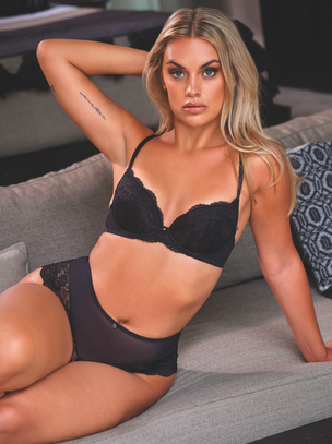 Sexy Lace Sustainable Plunge Bra