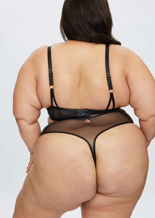 Fiercely Sexy High Waisted Thong image number 5.0