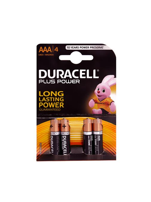 Duracell+ AAA 4 Pack image number 2.0