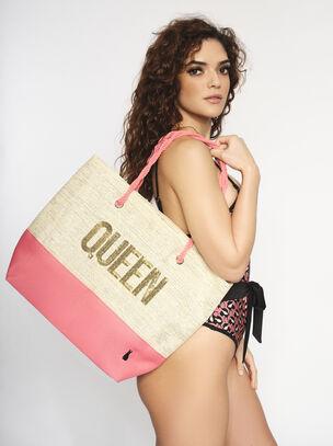 Queen Beach Bag
