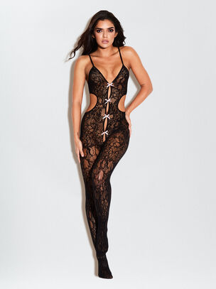 The Boudoir Crotchless Bodystocking