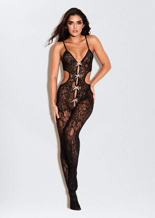 The Boudoir Crotchless Bodystocking image number 0.0