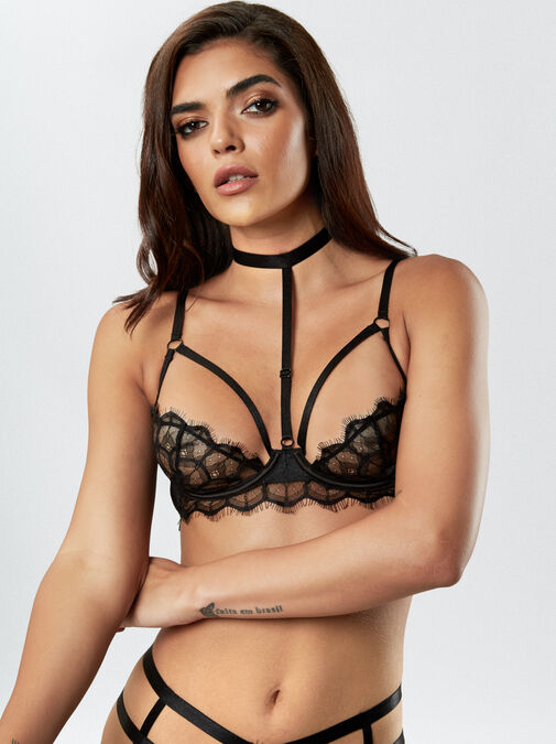 The Adored Quarter Cup Bra image number 2.0