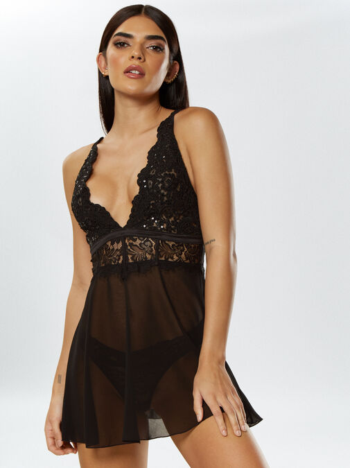 Fiercely Sexy Babydoll image number 0.0